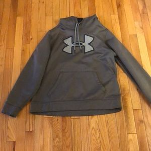 Under Armour gray large hoodie